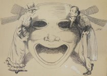 Image of [Drama mask] - Howard, O.F.